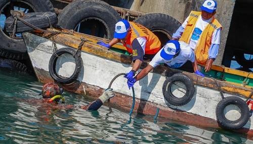 Limpieza de fondo de mar en DPA Talara permitió extraer más de 1 tonelada de residuos sólidos