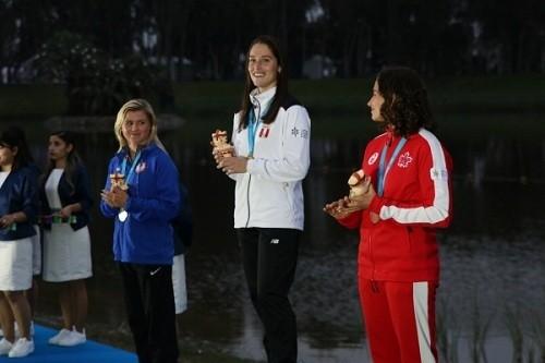 Panamericanos Lima 2019: Natalia Cuglievan logra la cuarta medalla de oro para el Perú