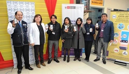 Hospital Cayetano Heredia lanza aplicativo móvil para obtener citas médicas de manera rápida y sencilla