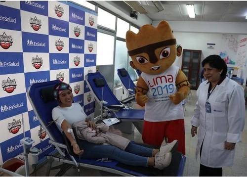 Milco promueve donación voluntaria de sangre en EsSalud