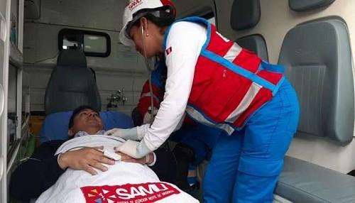 SAMU recibió 6,500 llamadas de urgencias y emergencias durante feriado por fiestas patrias