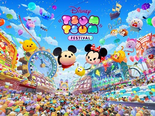 ¡Disney TSUM TSUM FESTIVAL llega a Switch el 8 de noviembre de 2019!