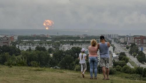 Rusia: un sitio de prueba de misiles balísticos se incendió, matando a 2 personas