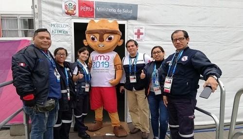 Minsa brinda atención médica a asistentes y participantes de los Juegos Panamericanos y Parapanamericanos