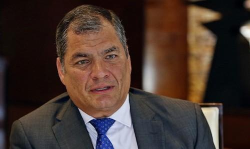 Tribunal ecuatoriano ordenó la detención preventiva para el ex presidente Rafael Correa