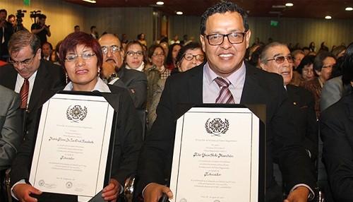 Hasta el 16 de setiembre pueden presentarse candidaturas para Palmas Magisteriales 2019