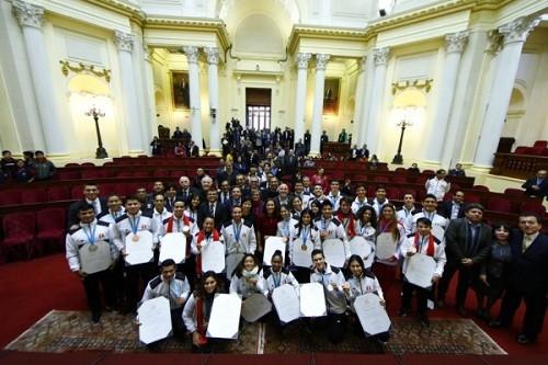 Panamericanos Lima 2019: Congreso rindió homenaje a deportistas con medallas