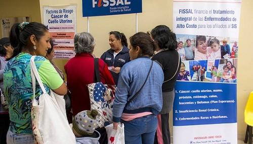 FISSAL cubre tratamiento de siete tipos de cáncer de pacientes SIS