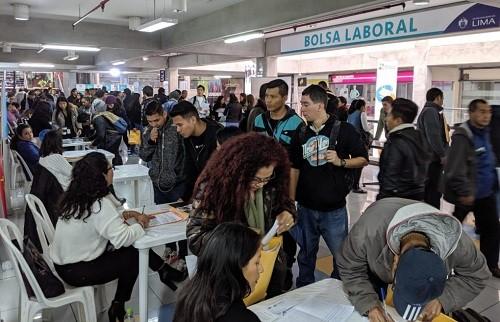 1200 empleos disponibles en novena Feria Laboral de La Municipalidad de Lima