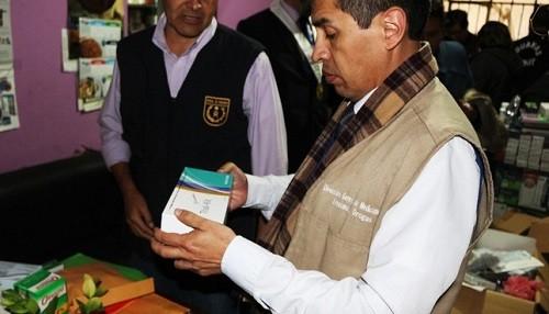Incautan cuatro toneladas de material odontológico y anestésico sin registro sanitario en el Cercado de Lima
