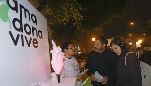 Muestra Interactiva Nocturna 'Ama, Dona, Vive' se presentará en Megaplaza Lima Norte