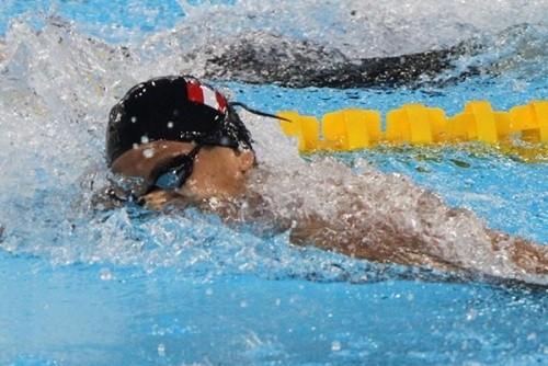 Joaquín Vargas registró récord nacional en Mundial de Budapest