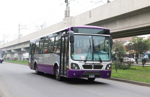 Nuevo servicio zonal del Corredor Morado a s/ 1.00