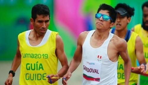 Luis Sandoval le dio la primera medalla a Perú en los Parapanamericanos