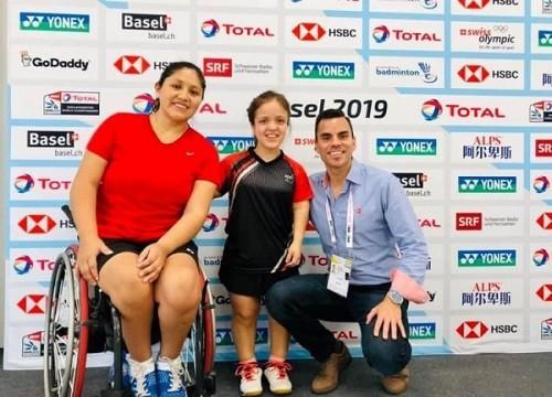 Giuliana Poveda, Campeona Mundial de Para Bádminton talla baja