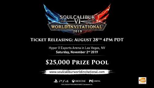 Bandai Namco Entertainment America Inc. anuncia oficialmente su torneo mundial de Soulcalibur VI