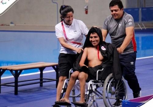 Rodrigo Santillán se llevó el bronce en Para Natación