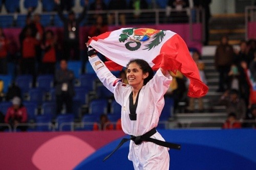 Angélica Espinoza le da 3ra presea de oro en los Parapanamericanos al Perú