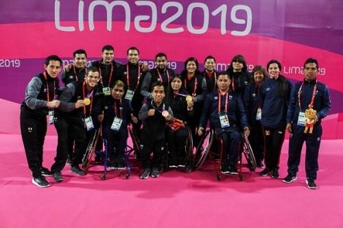 Ganamos 15 medallas en los Parapanamericanos Lima 2019