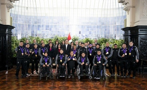 Reconocimiento a medallistas de Juegos Parapanamericanos