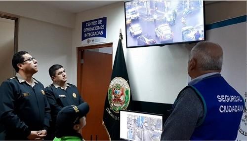 Instalan módulos de videovigilancia conectados a central de serenazgo