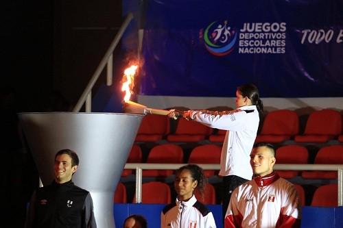 Se inauguraron los Juegos Deportivos Escolares Nacionales 2019