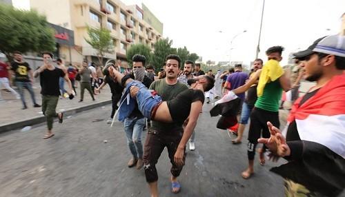 Irak: las recientes protestas, contra la corrupción, han dejado 31 muertos y 700 heridos