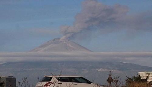 El volcán Popocatépetl de México entró en erupción 14 veces en una noche