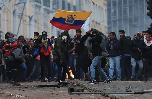 Ecuador declara fuerza mayor en todas las operaciones petroleras a medida que aumentan las protestas