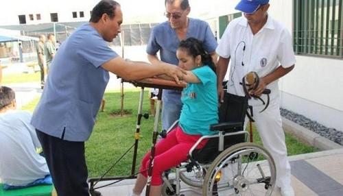 Personas con discapacidad podrán recibir servicios de rehabilitación en centros de salud del primer nivel de atención