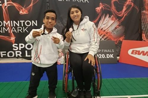 Medallas para Perú en Para Bádminton y Bádminton