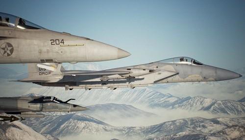 Mueve las mareas Bahía Anchorhead en la quinta misión descargable de Ace Combat 7: Skies Unknown