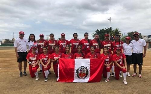 Softbol Femenino tuvo destacada participación en Sudamericano