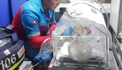 SAMU adquiere incubadoras para transporte aéreo asistido de bebés prematuros