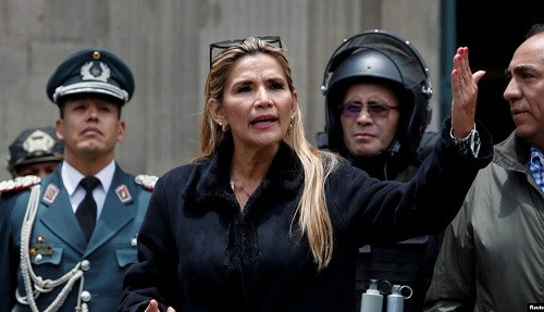 Rusia reconoce a Añez como presidenta interina de Bolivia