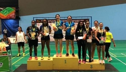Dupla Peruana de Bádminton gana medalla de oro en Surinam