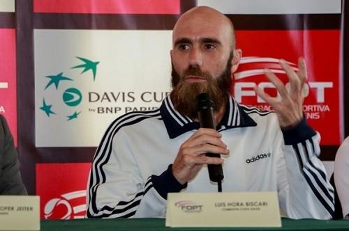 Luis Horna se suma al equipo peruano de tenis para la Copa Davis