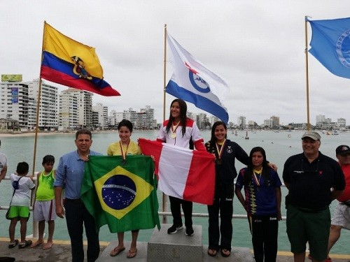 Gabriela Ccollcca logra la medalla de oro en Aguas Abiertas De Ecuador