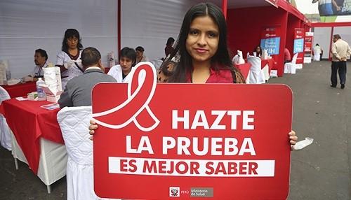 Minsa realiza el domingo Festival Informativo Cultural por Día Mundial de Lucha contra el VIH/SIDA