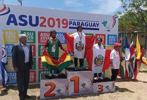 Perú logra sus primeras medallas en Juegos Sudamericanos Escolares