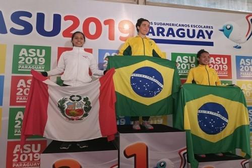 Natación entrega medallas a Perú en los Juegos Sudamericanos Escolares