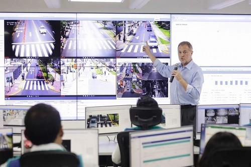 Ampliarán la fiscalización electrónica en vías de corredores rojo y morado