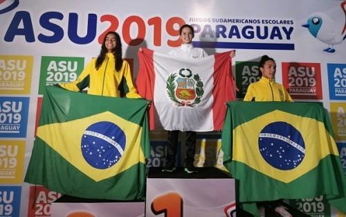 Alexia Sotomayor logra oro en Juegos Sudamericanos Escolares