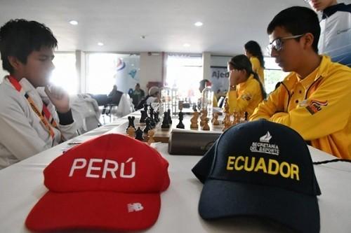 Ajedrez peruano se corona campeón en Juegos Sudamericanos Escolares