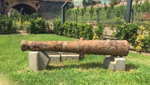 Declaran Patrimonio Cultural de la Nación a cañón del Parque de la Muralla del Cercado de Lima