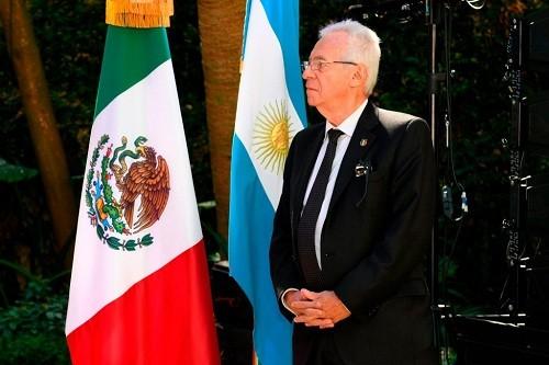 Retiraron al embajador de México en Argentina sobre presuntos robos de tiendas