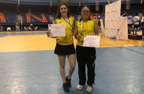 Bádminton peruano logra dos medallas de oro en El Salvador