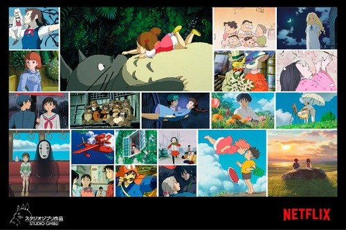 Netflix amplía su biblioteca de películas animadas con 21 obras maestras de Studio Ghibli