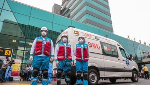 Minsa en alerta para atención de cualquier caso sospechoso de coronavirus en el Aeropuerto Internacional Jorge Chávez