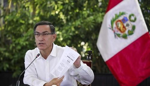 Jefe de Estado: Más de tres millones de aportantes a las AFP con menos recursos podrán retirar hasta S/ 2,000 en este mes